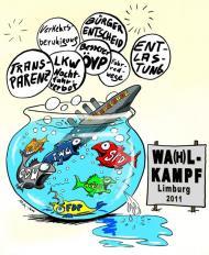 März 2011 - Wahlkampf in Limburg